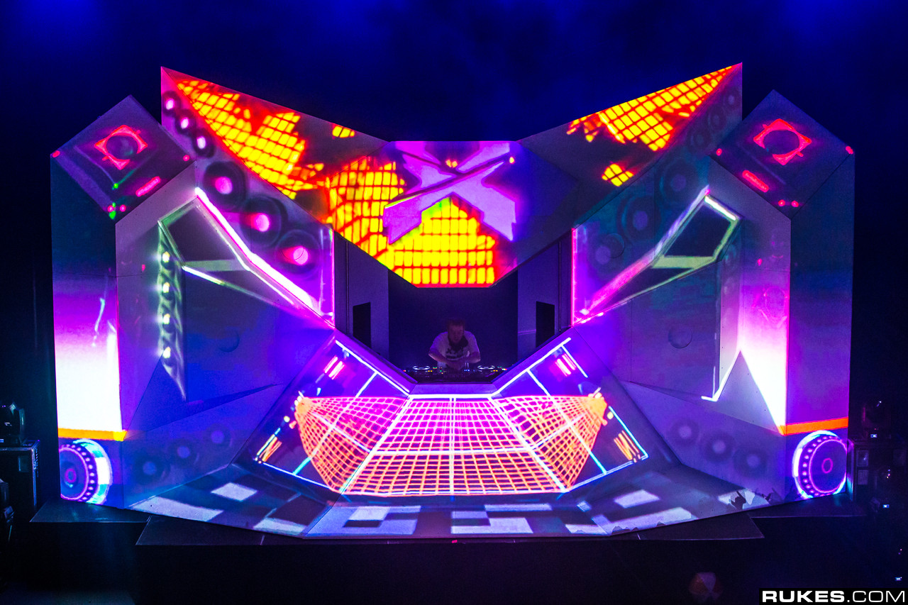 Building the Excision Executioner tour stage